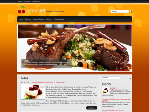 Kitchener WordPress Theme