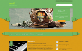Kwilli Free WordPress Theme