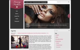 LuxuryFashion Free WordPress Theme
