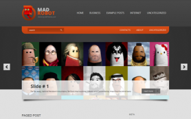 MadRobot Free WordPress Theme