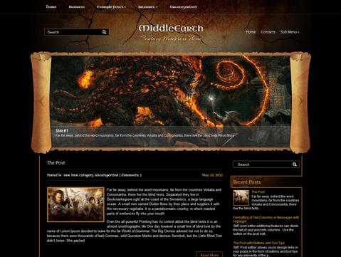 plantillas premium gratuitas de wordpress para sitios de juegos