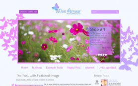 MonAmour Free WordPress Theme