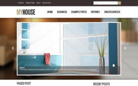 MyHouse Free WordPress Theme
