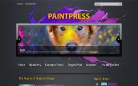 PaintPress Free WordPress Theme