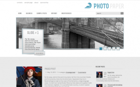 PhotoPaper Free WordPress Theme