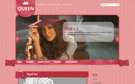 Queen Free WordPress Theme