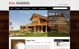 RealBusiness Free WordPress Theme