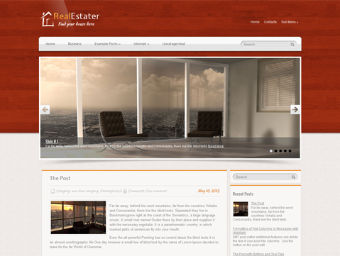 Wordpress Themes RealEstater
