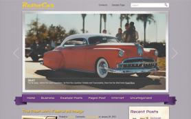 RetroCar Free WordPress Theme