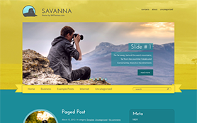 Savanna Free WordPress Theme