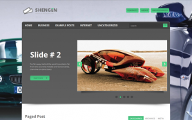 Shengen Free WordPress Theme