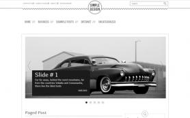 SimpleDesign Free WordPress Theme