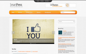 SmartPress Free WordPress Theme