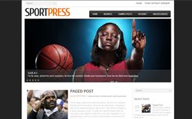 SportPress Free WordPress Theme