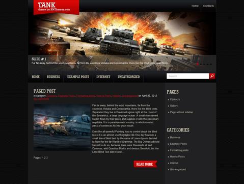 plantilla de wordpress gratis para sitio de juegos