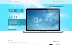 TechZone Free WordPress Theme