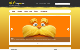WpCartoons Free WordPress Theme