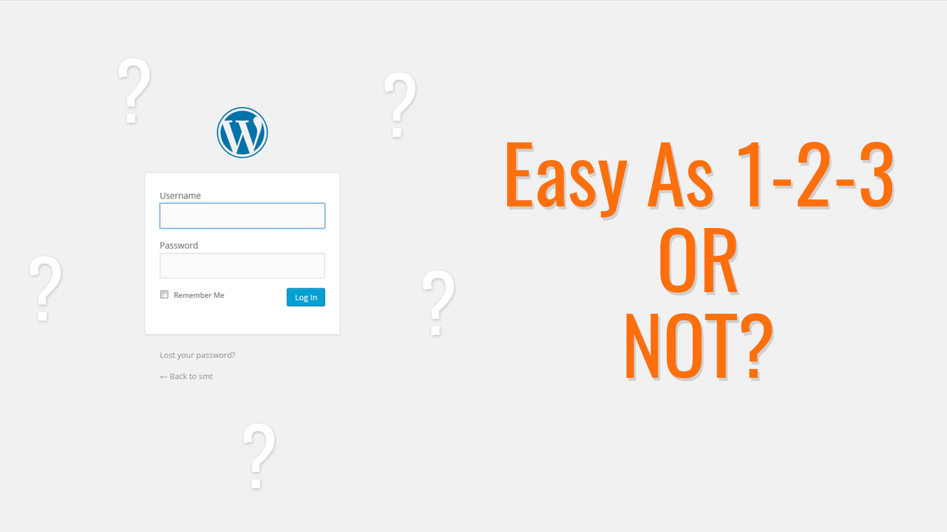 How to Start With WordPress