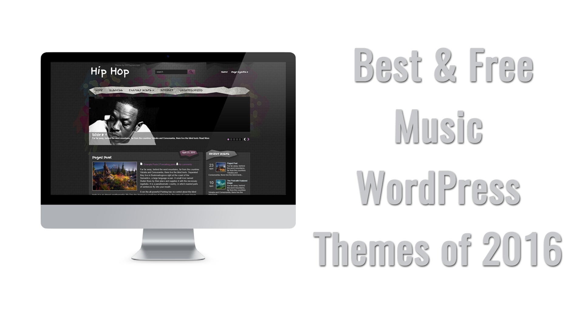 Top 7 Music Free WordPress Themes 2016