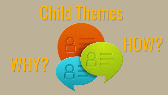 Adult Talk About Child Theme