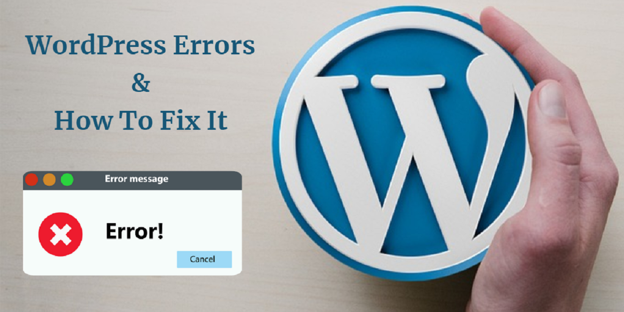 Most Common WordPress Error & How to Deal with It