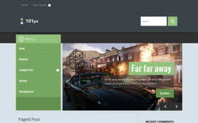 101px Free WordPress Theme