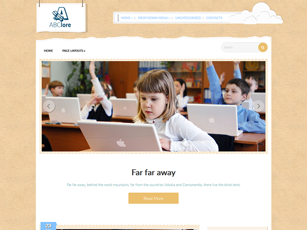 ABClore Free WordPress Theme