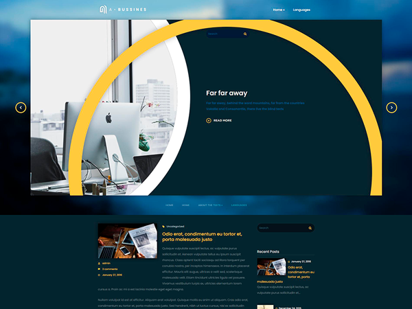 ABusiness Free WordPress Theme