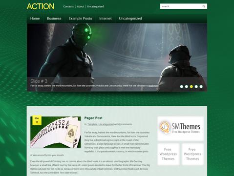 Action WordPress Theme