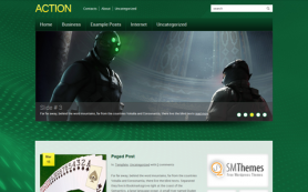 Action Free WordPress Theme