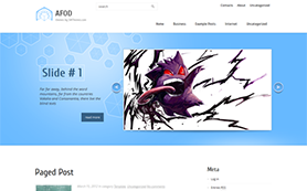 AFOD Free WordPress Theme