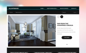 AllInterior Free WordPress Theme