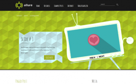 Allure Free WordPress Theme