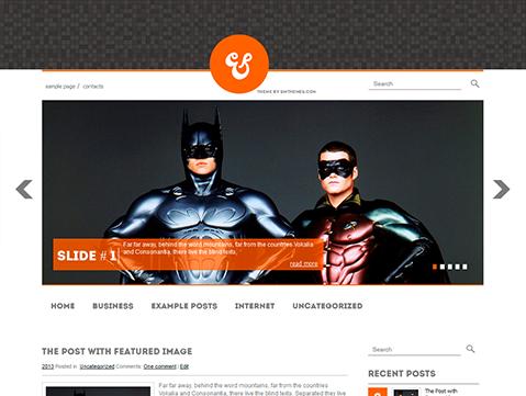AmpersFilm Free WordPress Theme