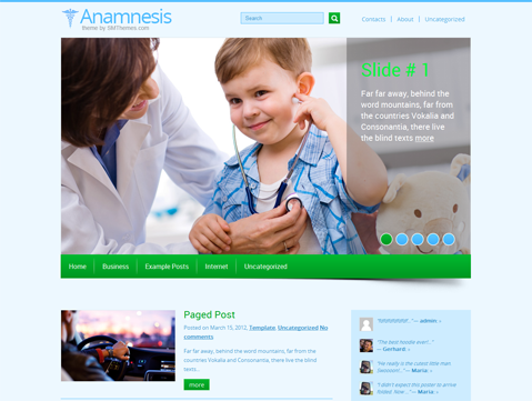 Anamnesis WordPress Theme