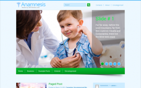 Anamnesis Free WordPress Theme