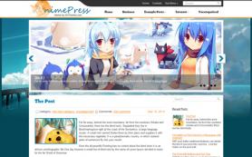 AnimePress Free WordPress Theme
