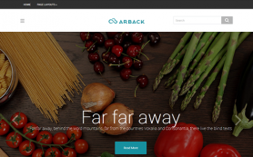 Arback Free WordPress Theme