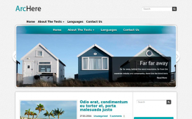 Archere Free WordPress Theme