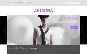 Ariadna Free WordPress Theme