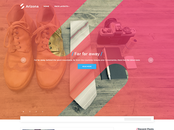 Arizona Free WordPress Theme