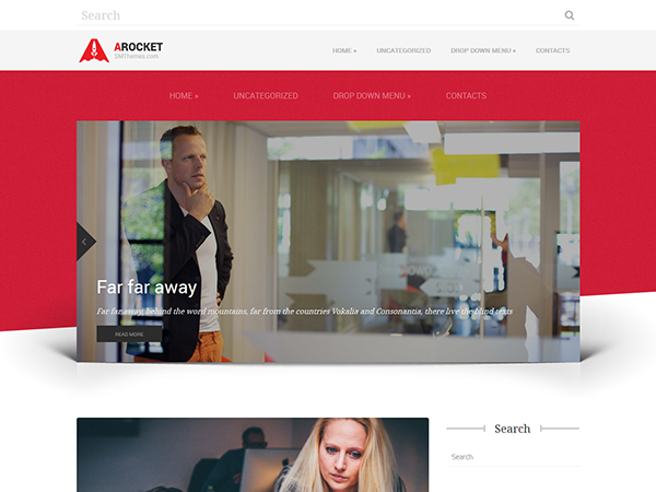 ARocket Free WordPress Theme