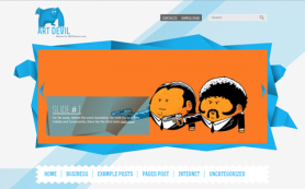 ArtDevil Free WordPress Theme