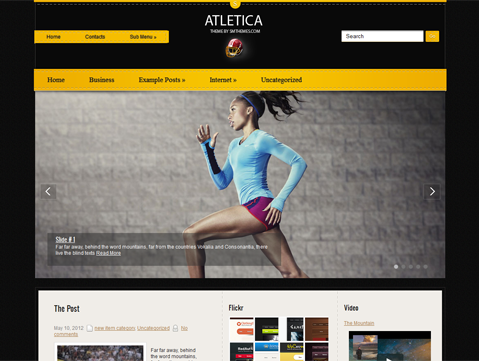 Atletica WordPress Theme