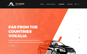 AutoLand Free WordPress Theme