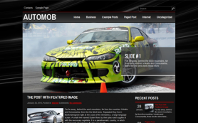 AutoMob Free WordPress Theme