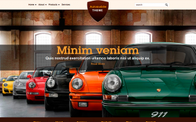 Automobile Free WordPress Theme
