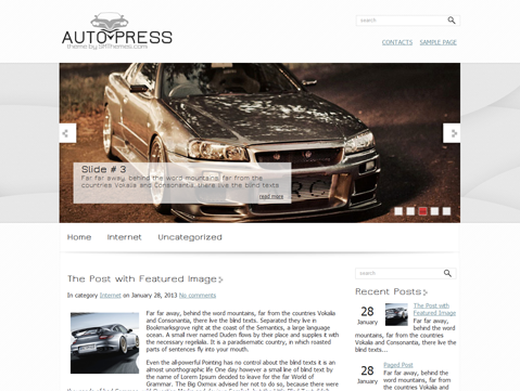 AutoPress Free WordPress Theme