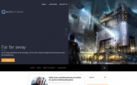 AutoUpgrade Free WordPress Theme