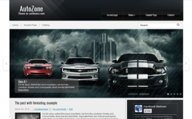 AutoZone Free WordPress Theme